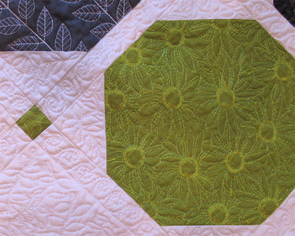 Grammy S Quilt Green And Gray Modern The Potting Shed