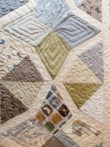 Quilting in process 1