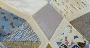 pinwheel triangle - step 1