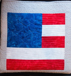 flag block